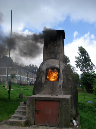 Our primitive incinerator adding to global warming